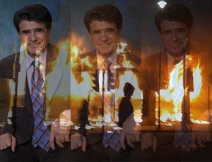 شجر و آتش بریتان