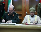 Tehran, Masqat Ink MoU on Defense Cooperation