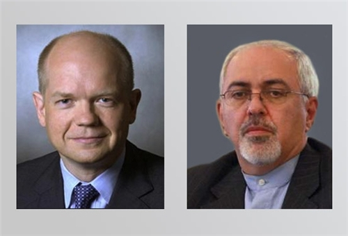 Zarif to Meet Hague, Ashton in New York Today